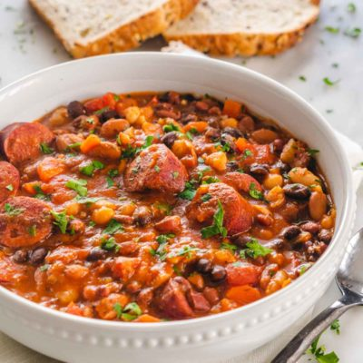 Beans and Sausage Stew