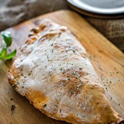 Ham and Cheese Breakfast Calzone